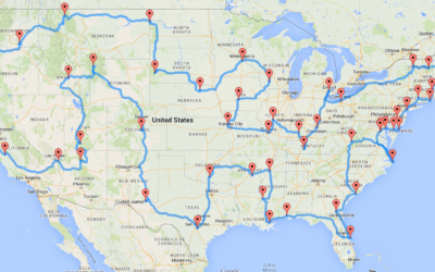 Traveling as an RV Franchise with Omega Mapping