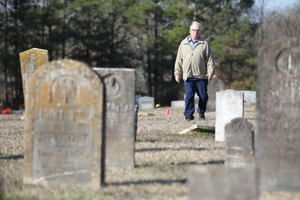Len Strozier At Marshall County Cemetery